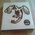 Pokemon Silver wooden Cartridge