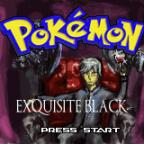 Pokemon Exquisite Black Titlescreen Überarbeitet