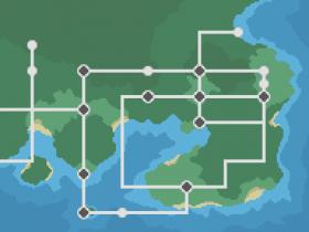 Worldmap Johto Kanto