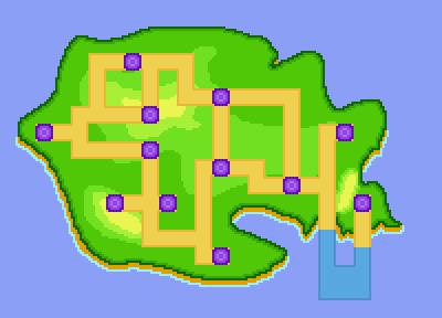 Weltkarte #1 x2 Zoom