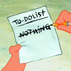 To-Do-List: Nothing