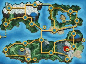 B&W Style Worldmap