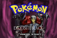 Pokemon Exquisite Black