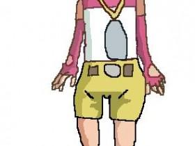Digimon 02 Kari (mit paint gezeichnet)