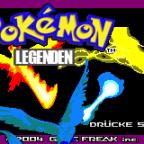 Pokémon Legenden Titelbildschirm