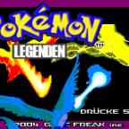 Pokémon - Legenden Titelbildschirm